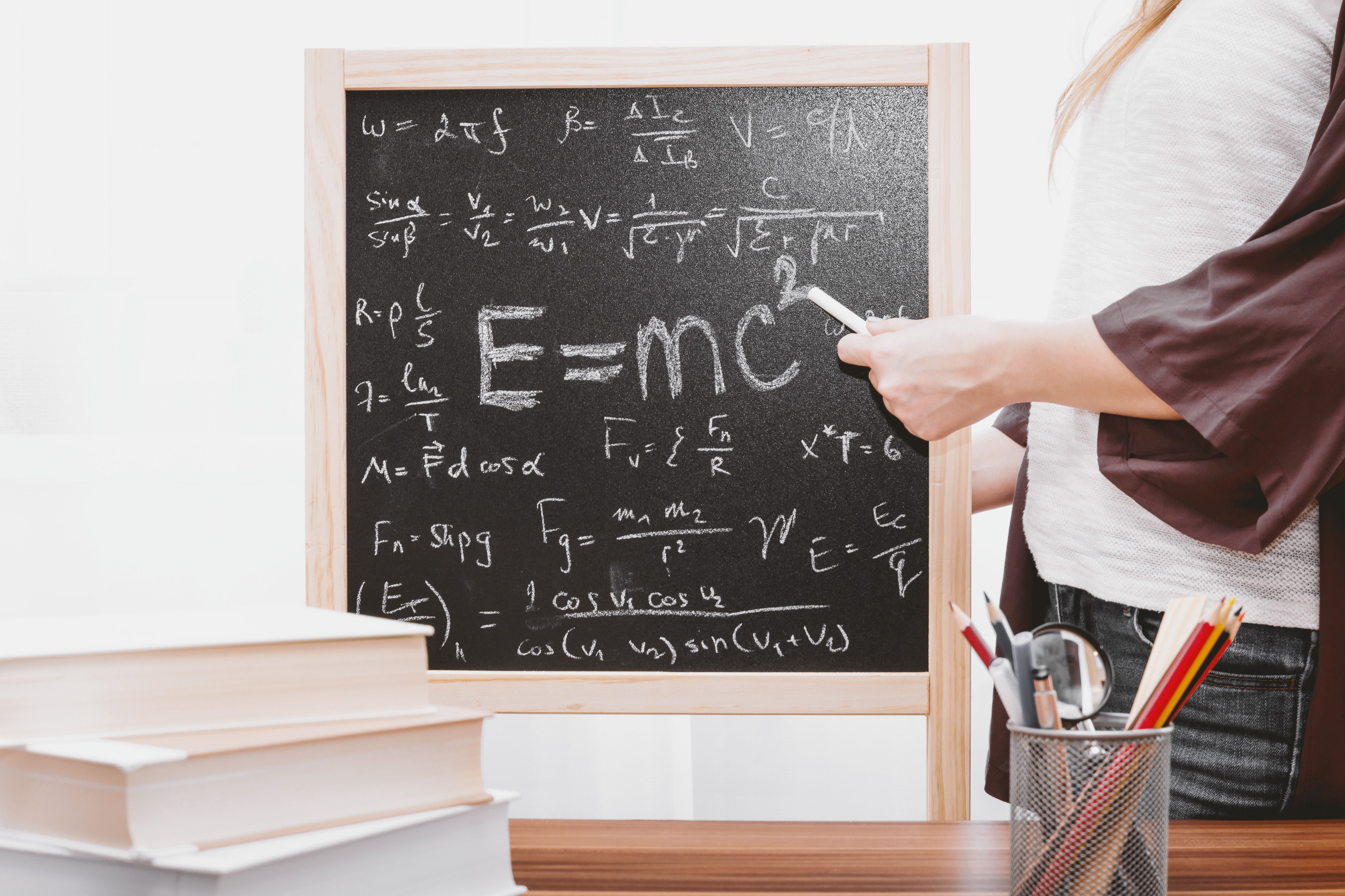 Tutoring on a blackboard