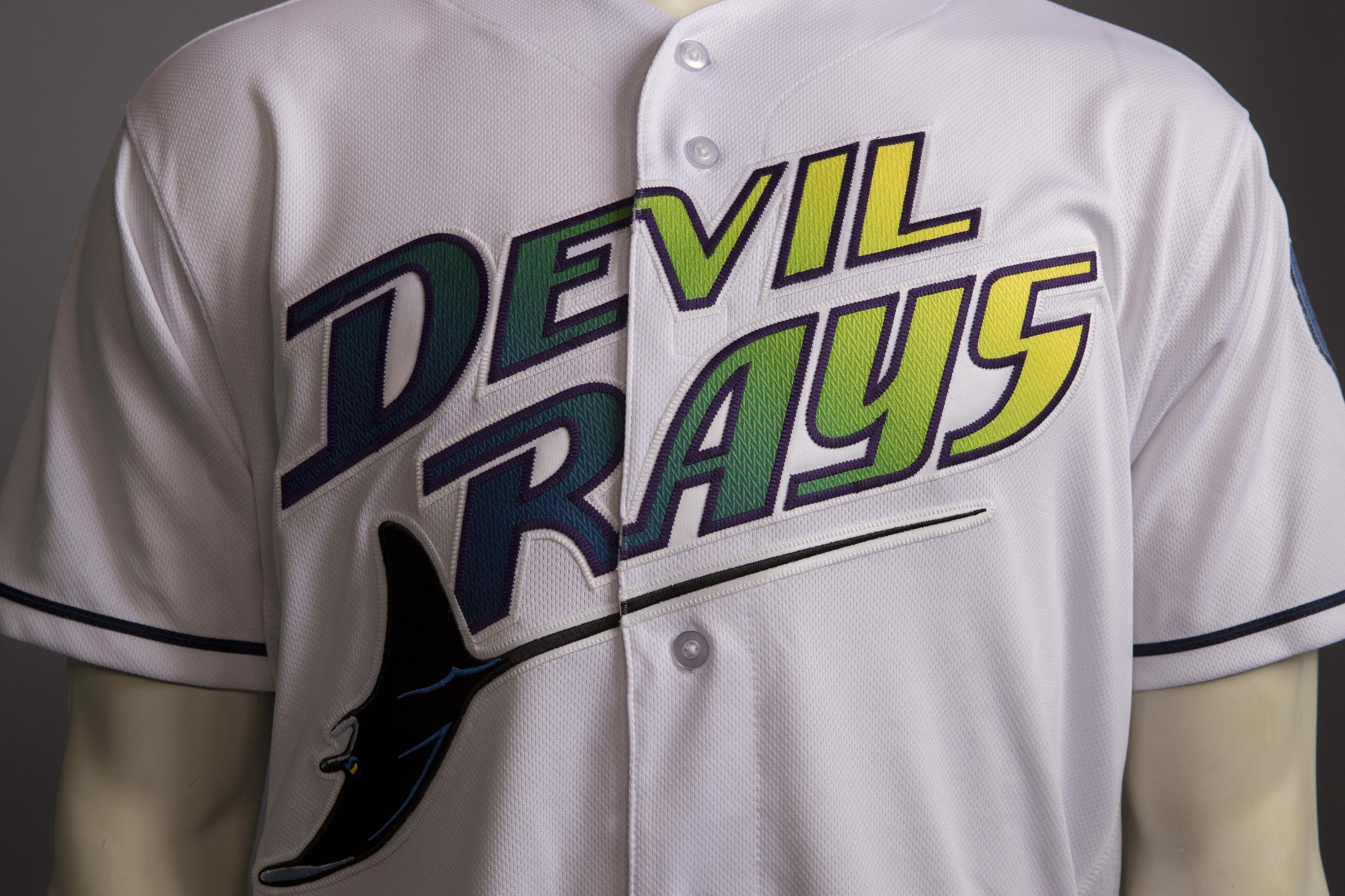 separation shoes 2b549 4485a Rays Introduce 20th Anniversary Campaign, Including New Logo ...
