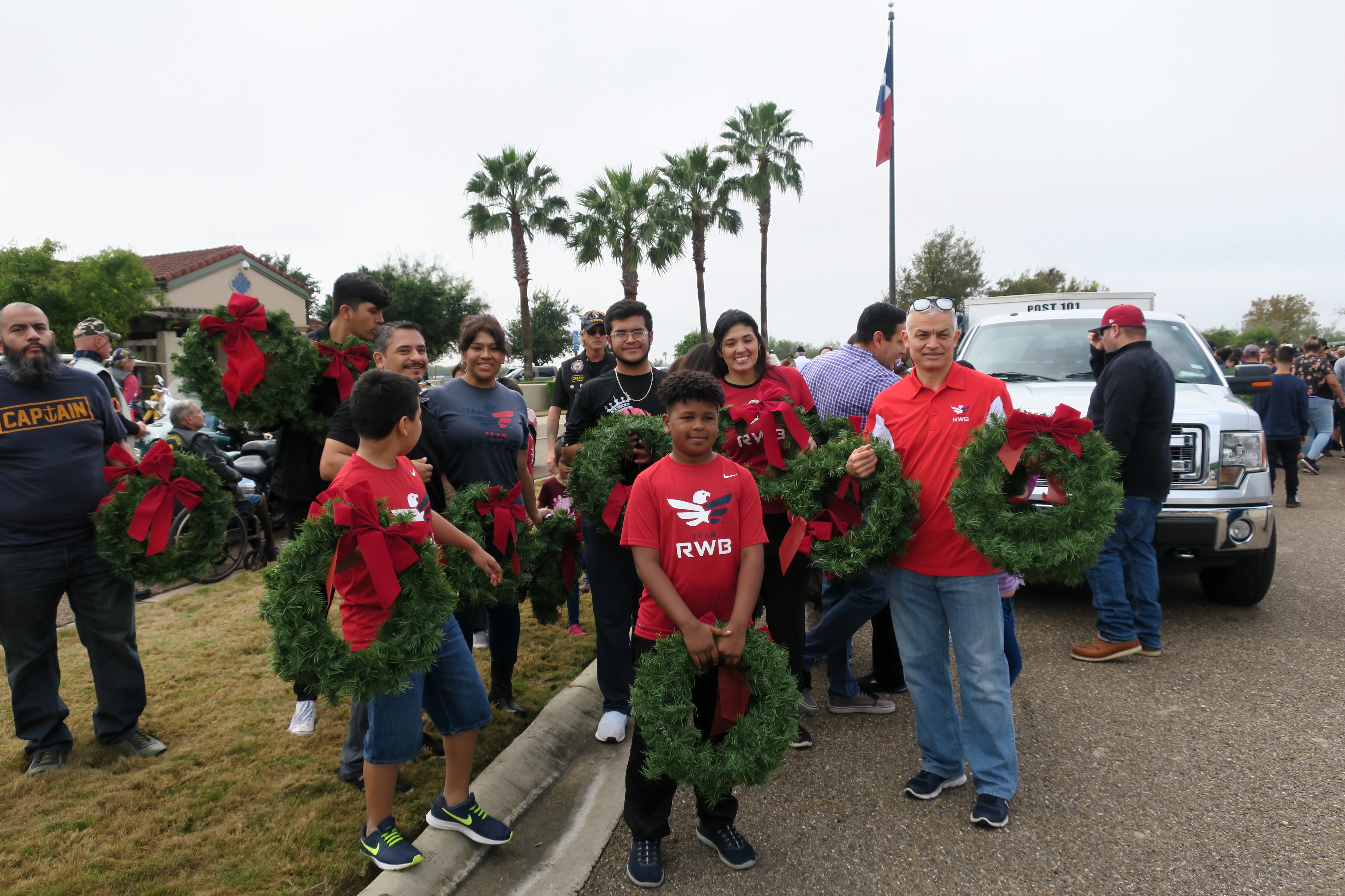 2018 Wreath Laying Ceremonies at Texas State Veterans Cemeteries