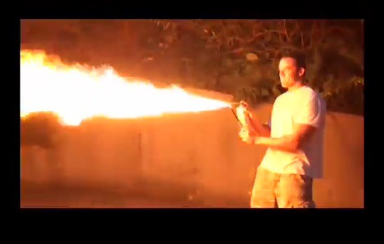 The Pros and Cons of Using a Homemade Flame Thrower to Destroy a