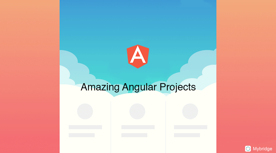 18 Amazing open source Angular projects - Mybridge for Professionals