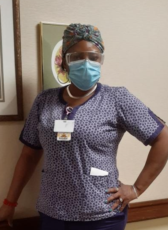 """Gloria Duquette works """"anywhere between 80 to 100 hours a week"""" as a nursing assistant in three Connecticut nursing homes."""