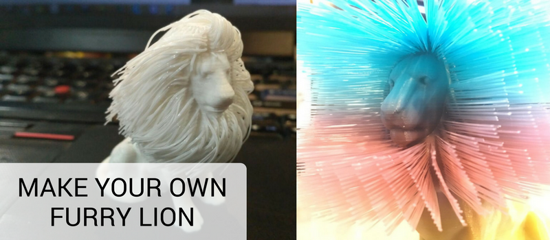 Furry Lion — 3D Printing Trend of the Week - 3Ding Stories