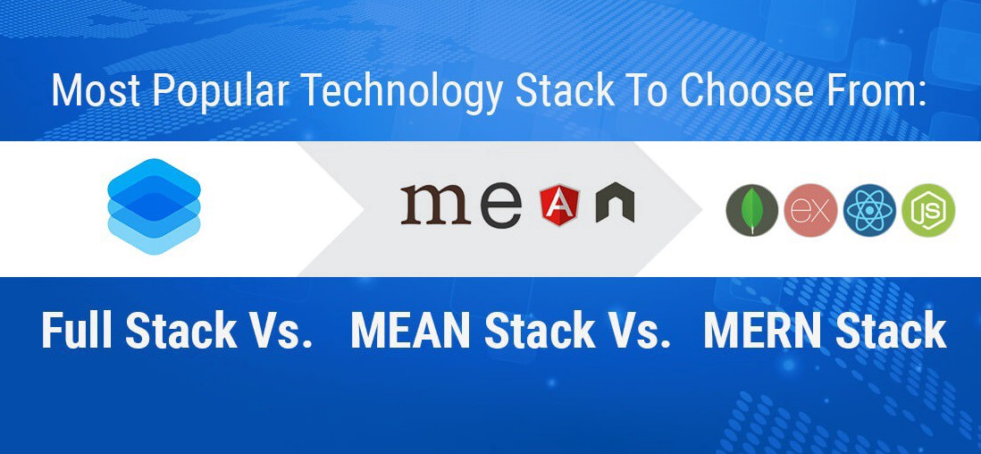 Full-Stack vs MEAN Stack vs MERN Stack: Which One Will Be The Best For App Development?