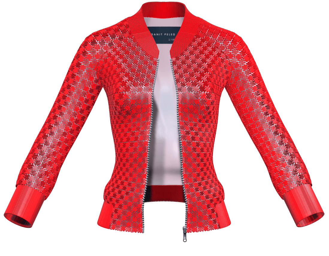 World S First 3d Printed Jacket By Fashion Designer Danit Peleg By 3d Printed 3d Printing The Future Medium