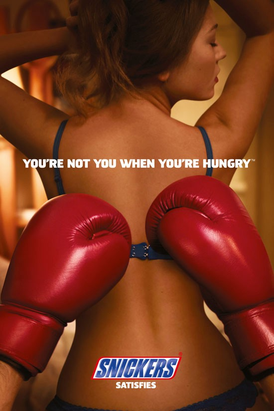 Snickers: You're not you when you're hungry Outdoor Advertising