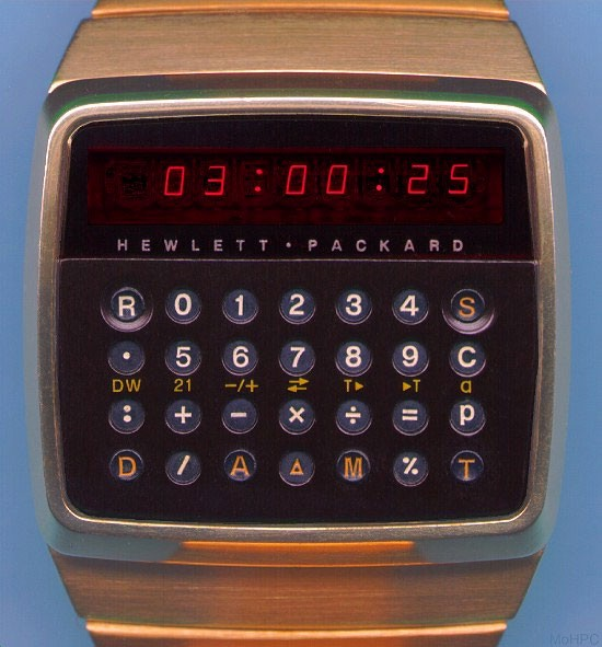 The Gadget We Miss: The Calculator Watch - People & Gadgets