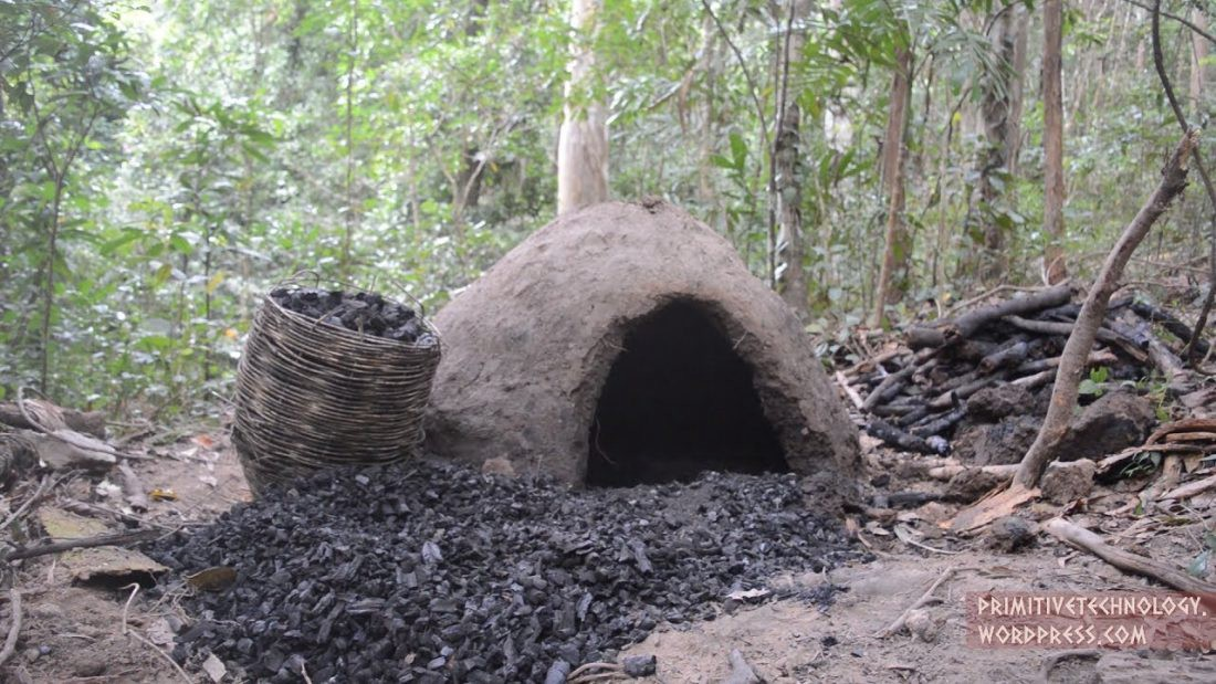 How to Make a Reusable Charcoal Mound from Mud - Gear & Grit