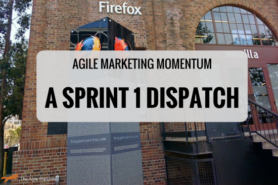 agile marketing gains momentum