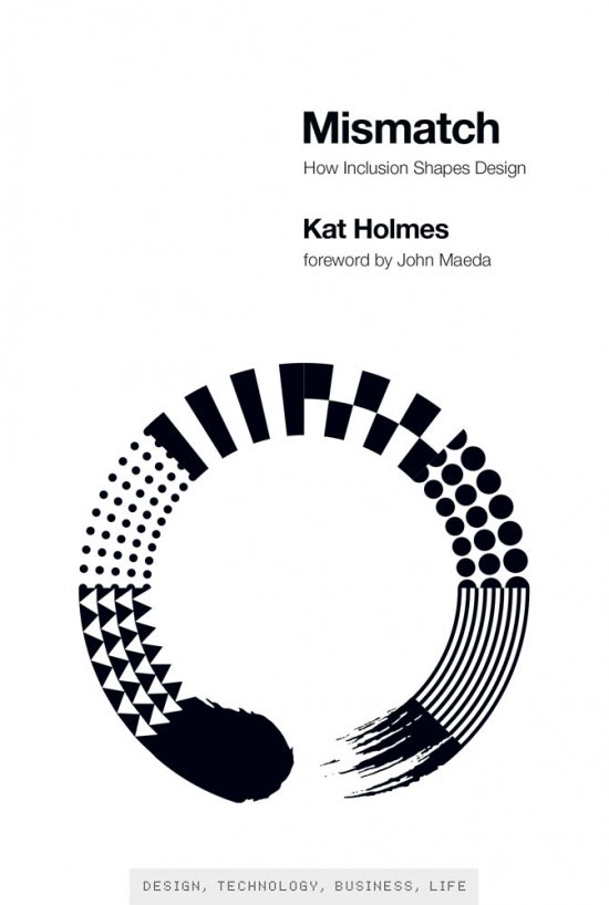 A book cover of Mismatch by Kat Holmes.