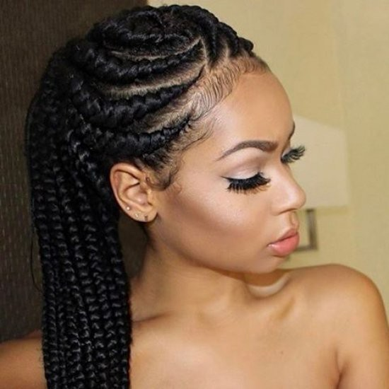 African Style Hair Braiding From Africa