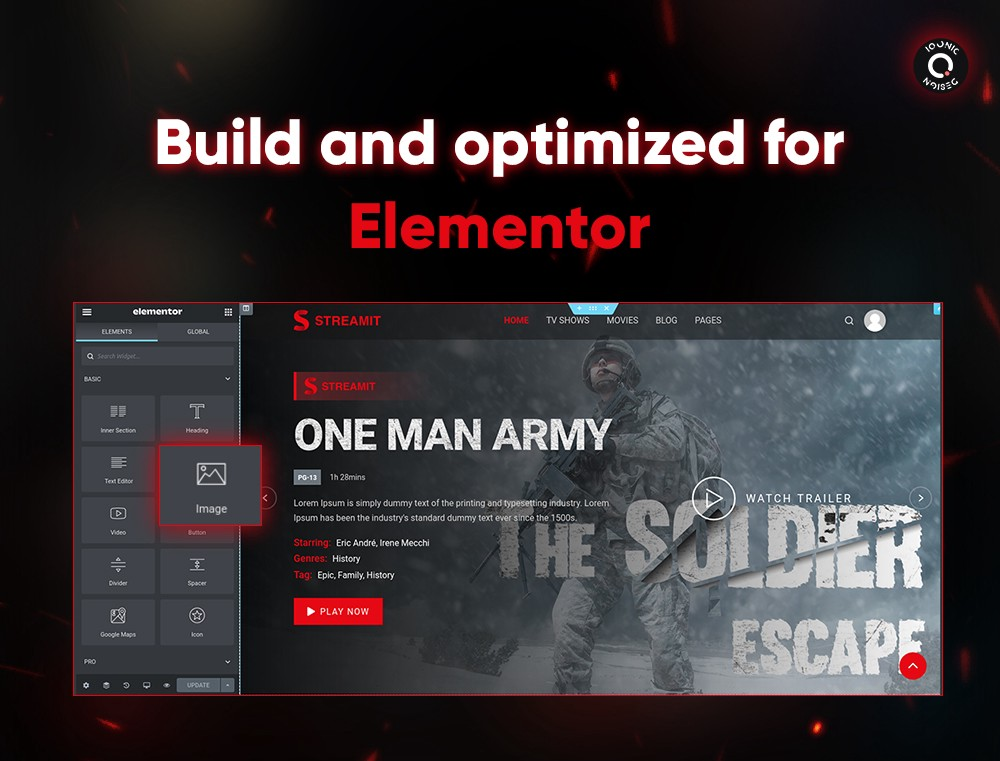 Streamit | Video Streaming WordPress Theme + RTL  Elementor Page Builder: Lots Of Aces Up Its Sleeve! 1 l9FBnCAkFFzUgPcoJgZmsA