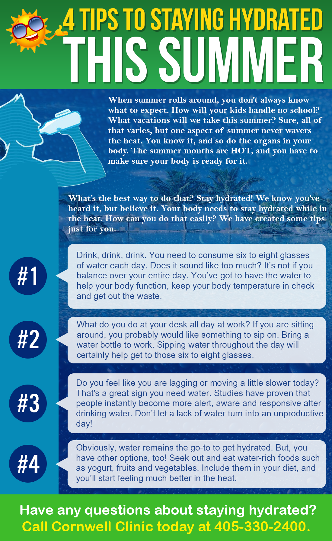 5 Tips To Staying Hydrated This Summer