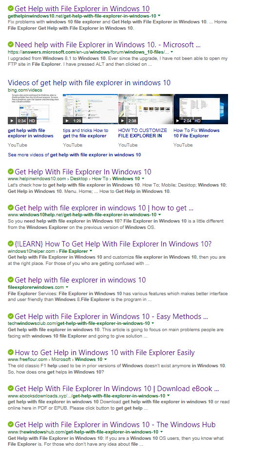 Microsoft removed Help from Windows 10  And it gets much worse…