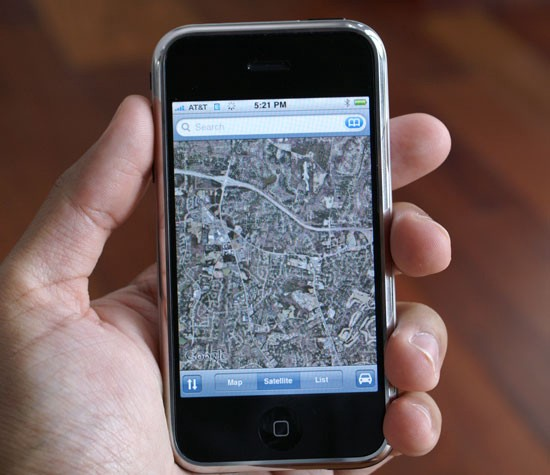 Google Maps on the original iPhone.