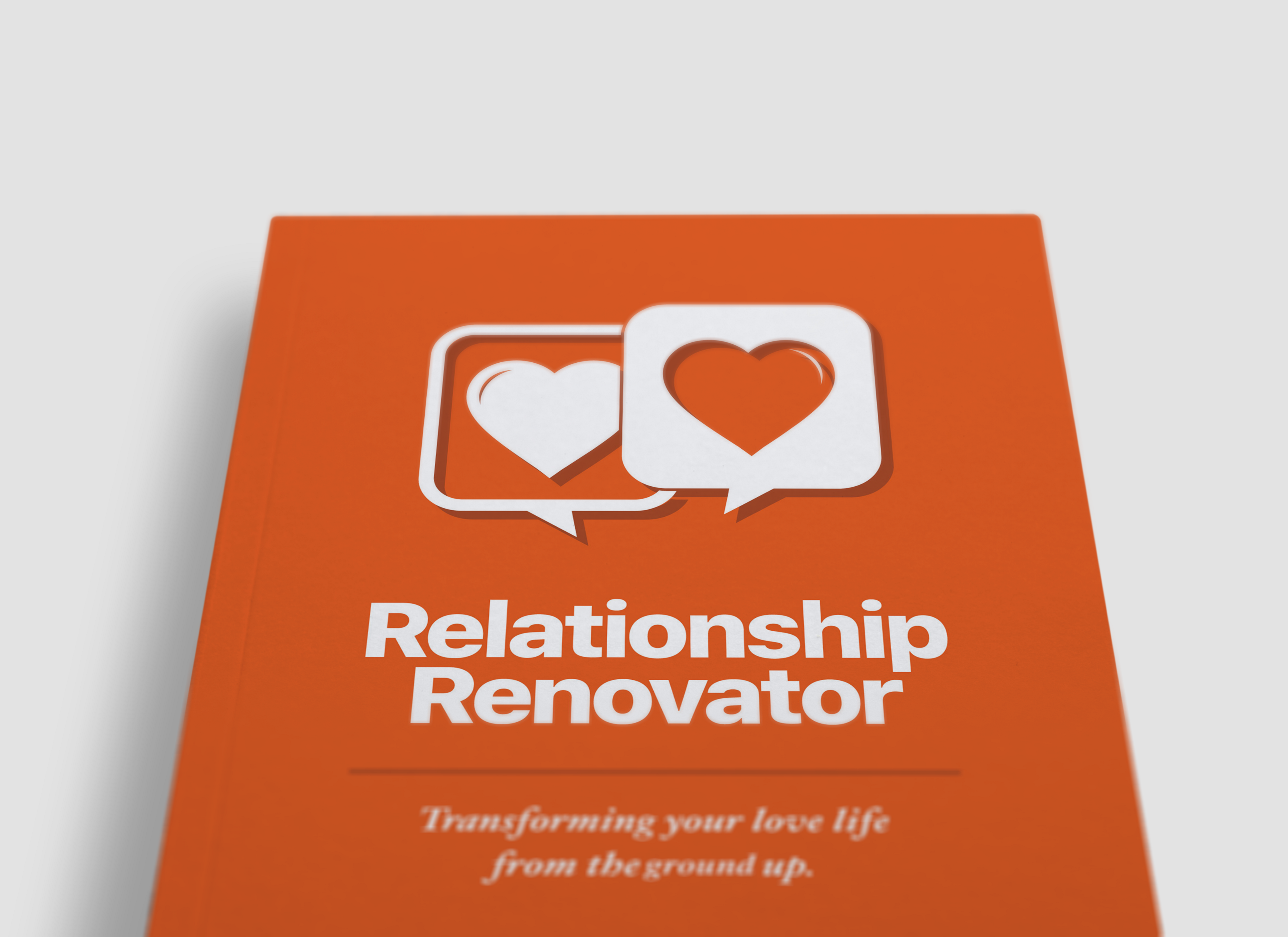 The orange cover of Relationship Renovator sits against a white background.