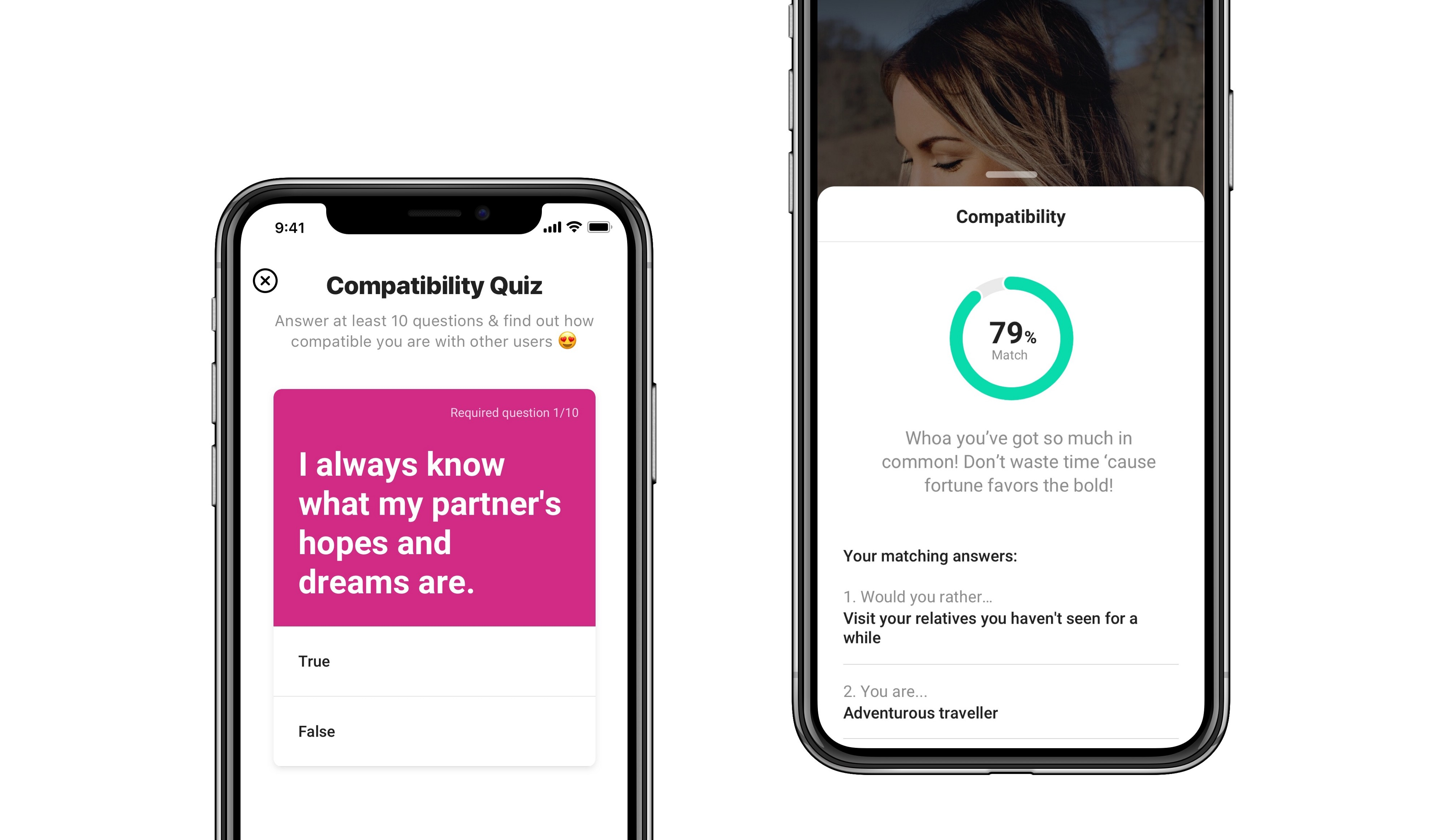 Compatibility Check: HILY Launches A New In-App Quiz