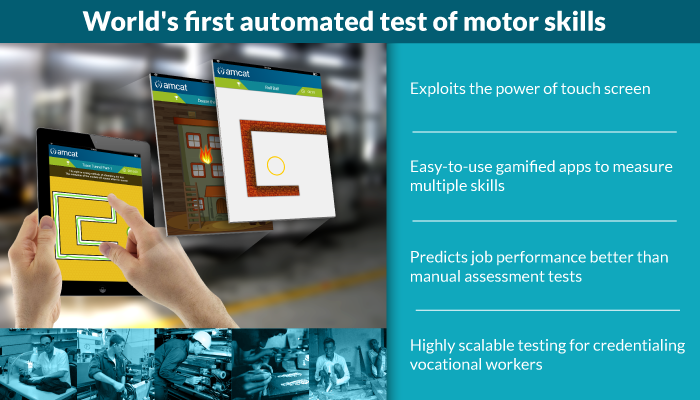 World's first automated motor skill test — exploiting the power of