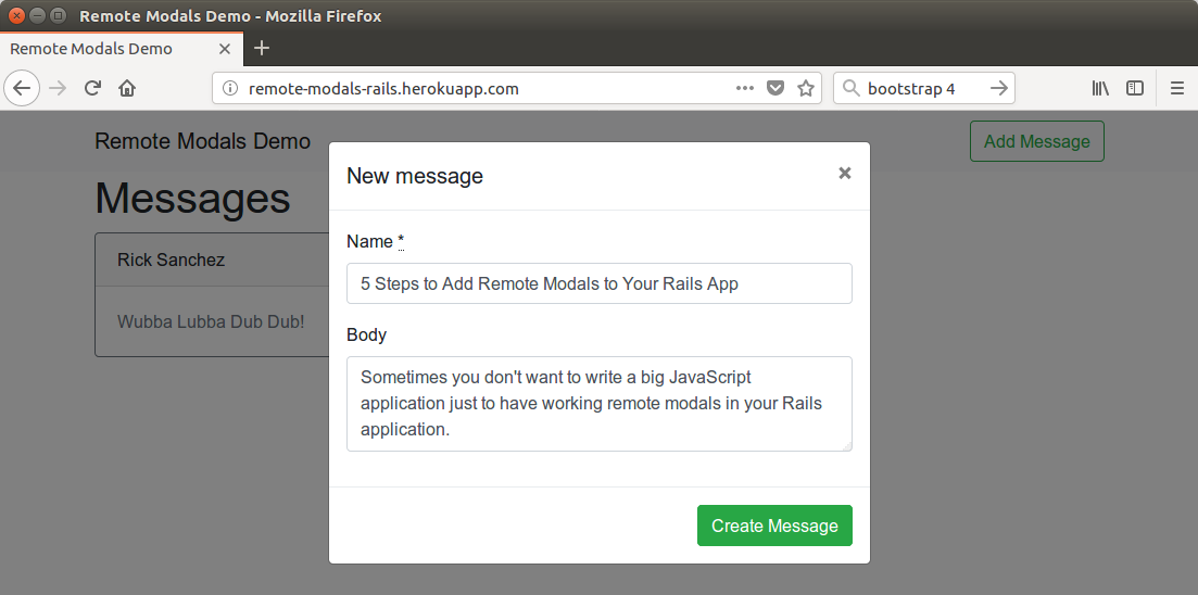 5 Steps to Add Remote Modals to Your Rails App - JTWay by