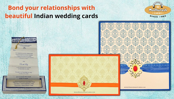 Modern or Indian Wedding Invitations - Madhurash Cards — The King ...
