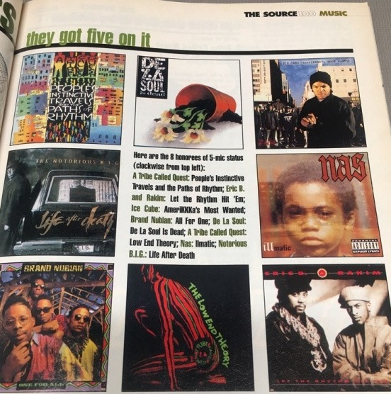 """Revisiting the Best Rap Rankings from the 100th Issue of """"The Source"""
