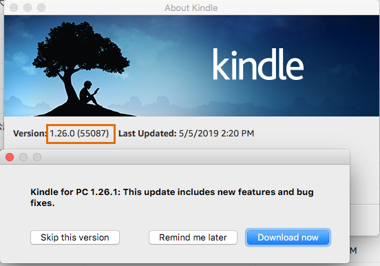 Dealing with Kindle for PC/Mac 1 26/1 25 and KFX Conversion