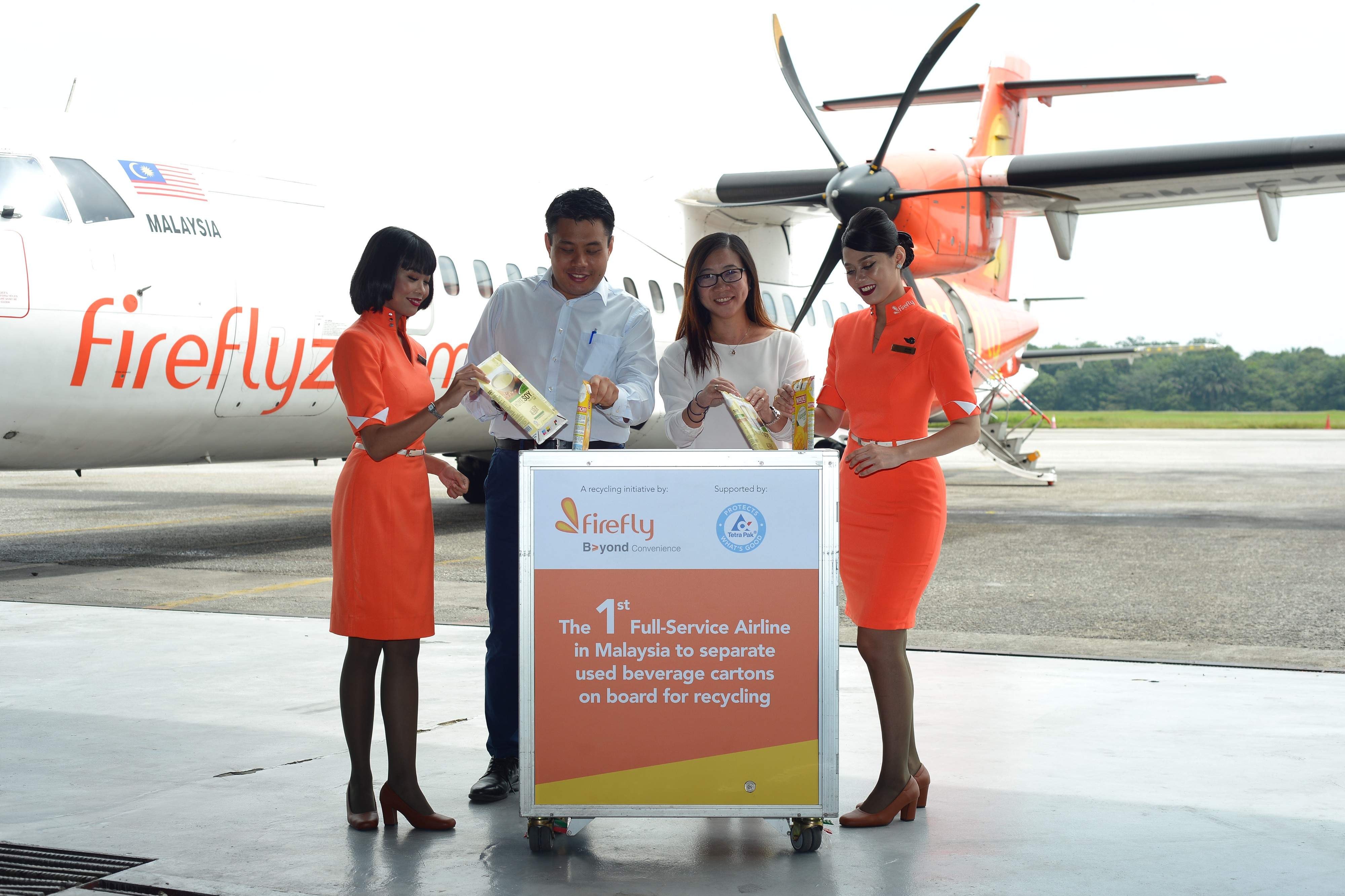 Inflight Beverage Carton Recycling: An Initiative by Firefly