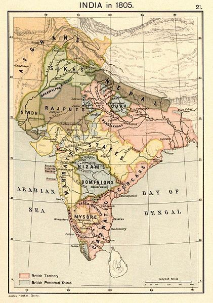 The myth of 200 years of British rule in India - Indian National