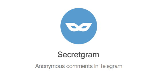 There's an anonymous chat-to-blogging tool on Telegram — here's how