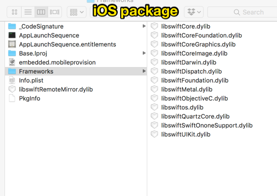 How to add a dynamic Swift framework to a Command Line Tool
