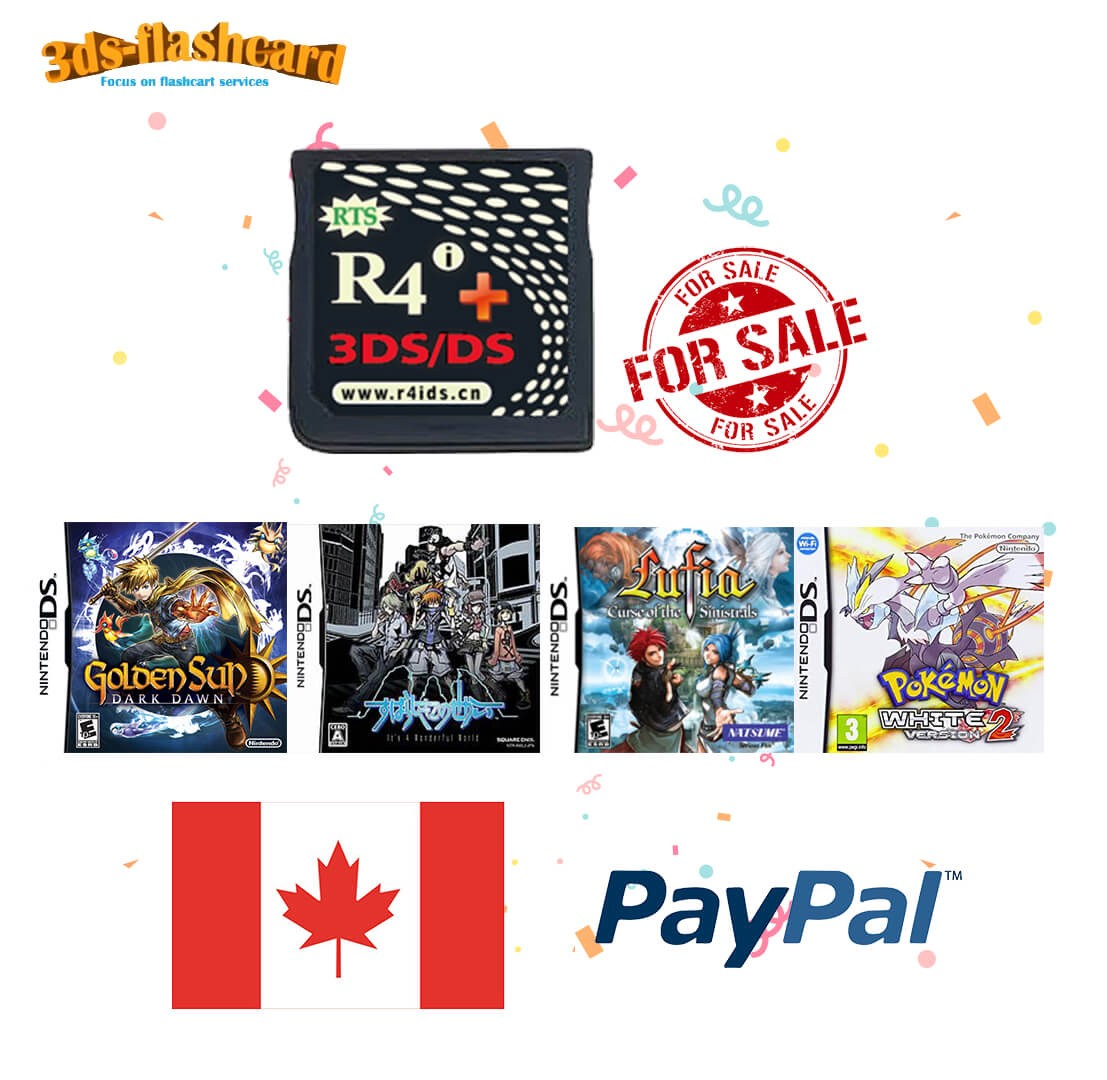 Where to buy R4i gold plus 3ds in Canada? - Xingxing Pi - Medium