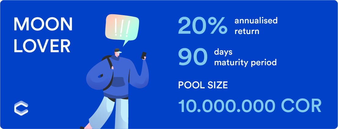 Moon Lover Pool — Staking APRs