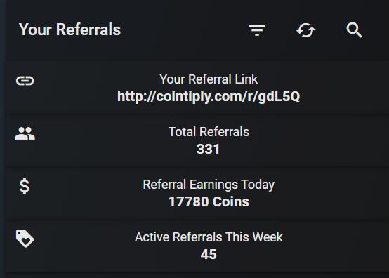 How to find your referral link on Cointiply.