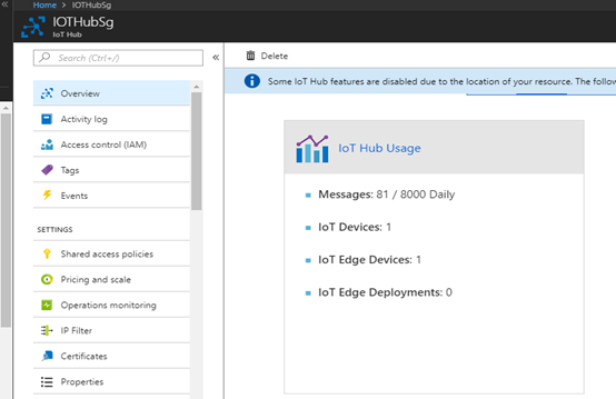 Using Azure IoT Edge to exchange real time data from devices to IoT hub