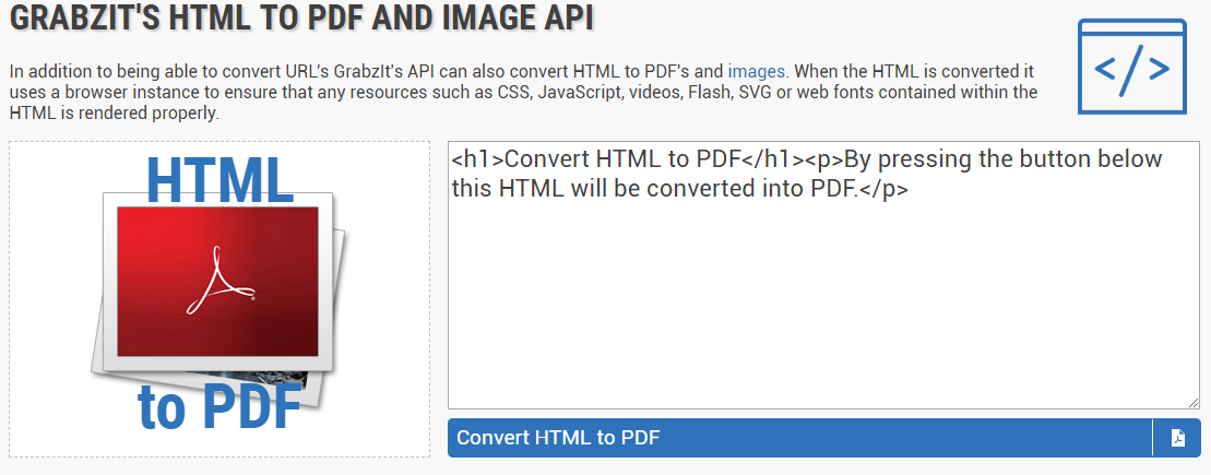 How to Convert HTML to PDF Using Grabzit - Jackie Molloy