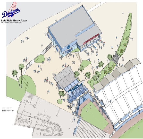 2014 Dodger Stadium renovations: The secret of their access