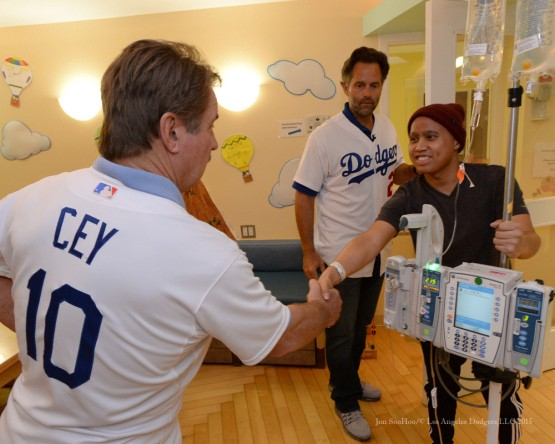 11/19/15-Something Current-Ron Cey and Eric Karros visit