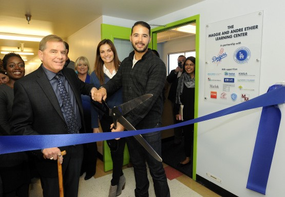 Opening Of Ethier Learning Center Shows How Teamwork Makes A Difference By Jon Weisman Dodger Insider