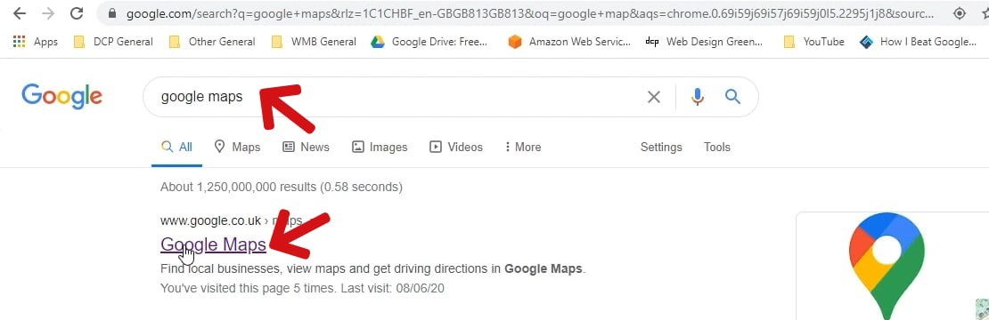 How To Embed Google Map Into A Website Page Dcp Web Designers Medium
