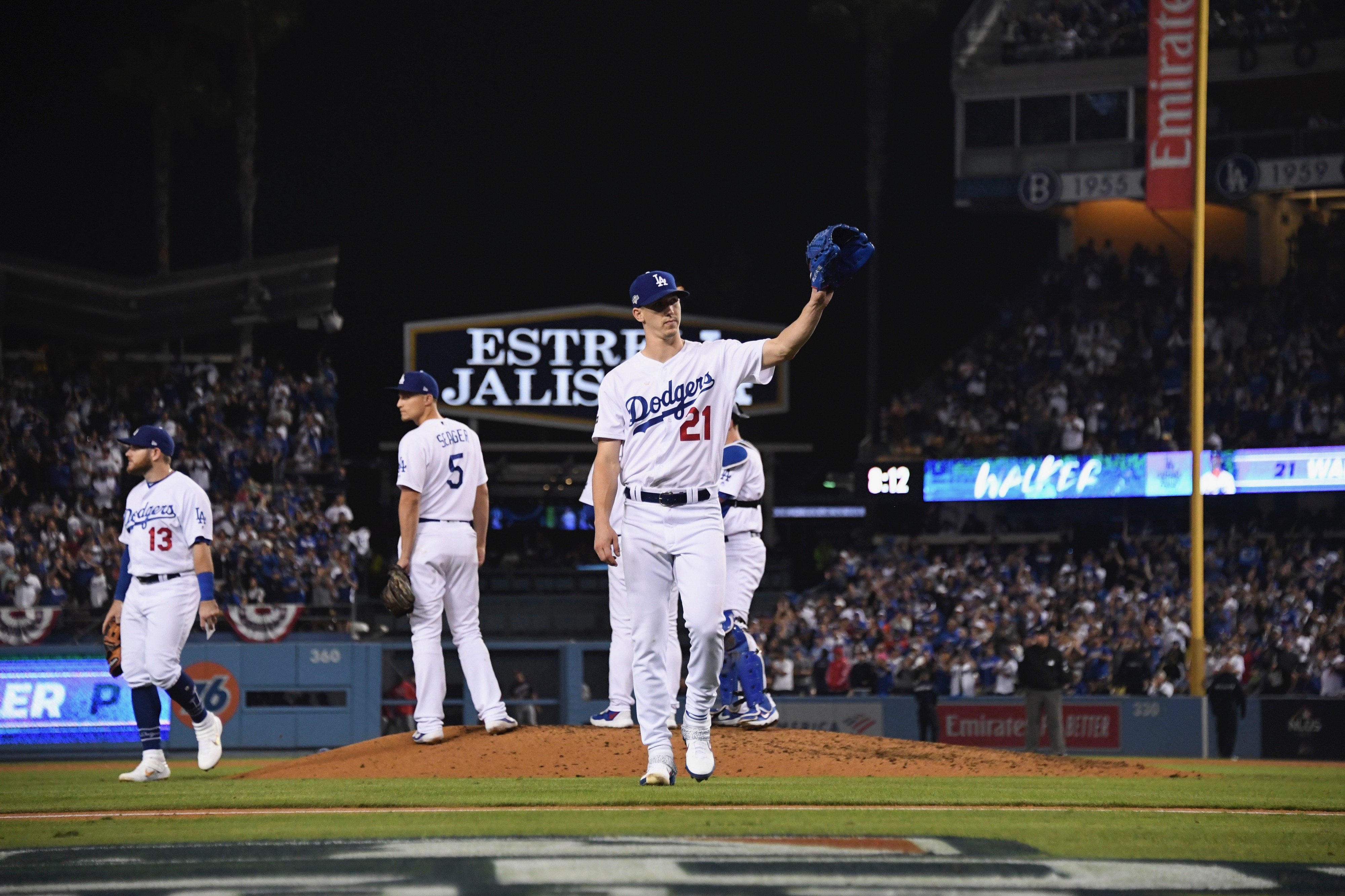 Buehler Rises Then Reflects On The Dodgers Game 5 Loss By Cary Osborne Dodger Insider
