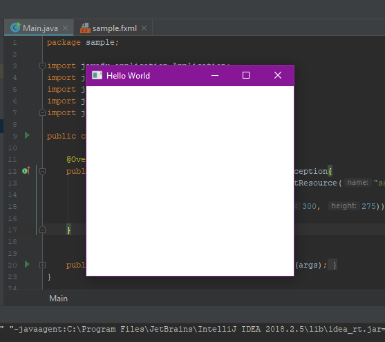 JavaFX step by step Part 1 — Getting Started with JavaFX