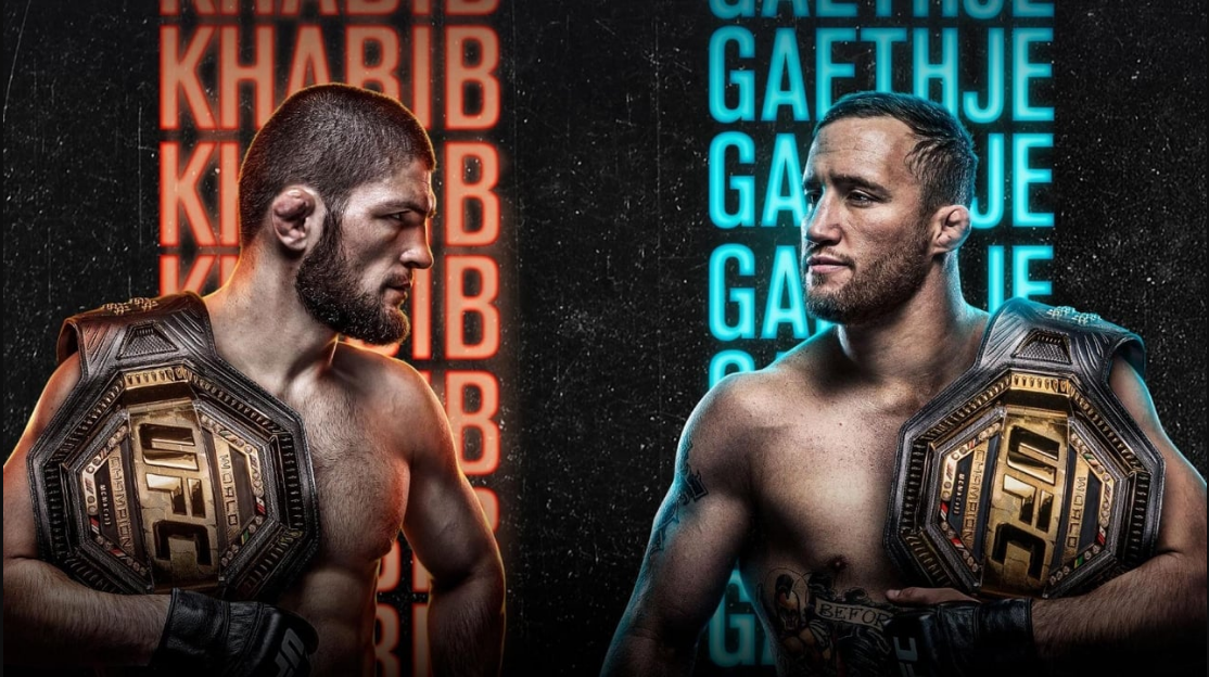 "UFC 254: ""KHABIB VS GAETHJE"" - LIVE STREAMING on ESPN+ 