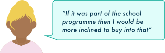 Quote 4: The schools should be involved
