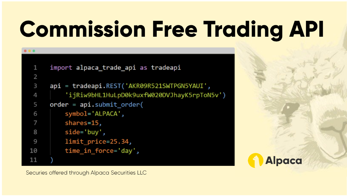 Commission-Free API Stock Brokerage Is Finally Here
