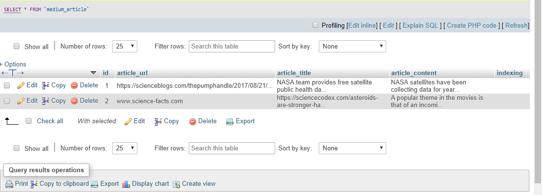 A simple but powerful search algorithm in PHP, MySQL