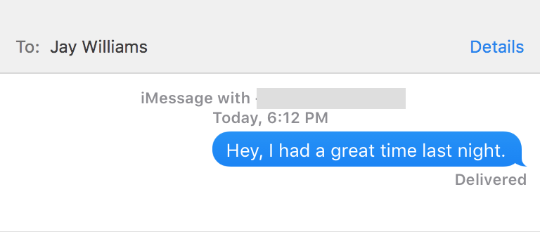 How to know if hes interested through text