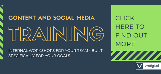 Content marketing and social media training
