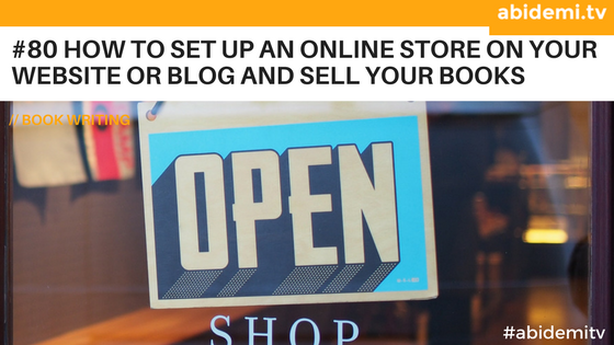 How to sell online from your store