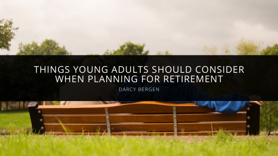 Darcy Bergen young person retirement plan article cover
