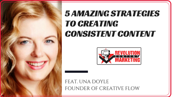 5 amazing strategies to creating consistent content